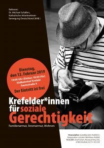 Veranstaltung zum Thema soziale Gerechtigkeit